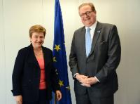 Visit of Richard Dictus, Executive Coordinator of the UNV programme, to the EC