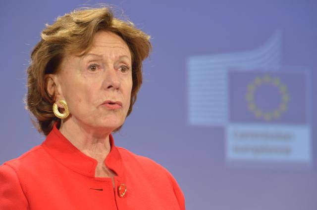 Press conference by Neelie Kroes, Vice-President of the EC, on the proposed rules to cut broadband installation cost