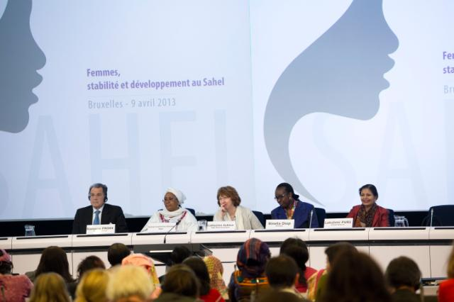 Participation of Catherine Ashton, Vice-President of the EC, in the conference on Women's Leadership in the Sahel Region