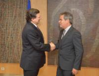 Visit of Jorge Viana, First Vice-President of the Brazilian Senate, to the EC