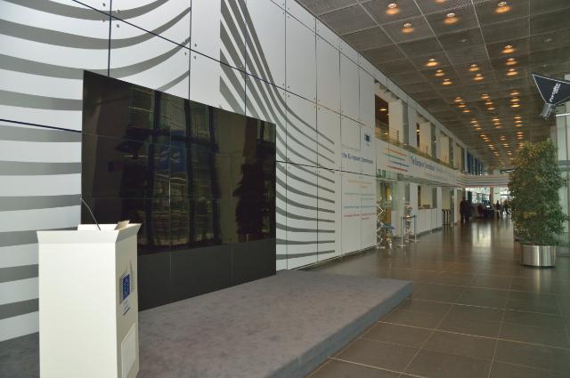 The visitors center of the European Commission at the Charlemagne building