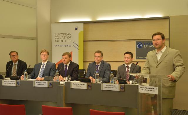 Press conference by Ladislav Balko, Member of the European Court of Auditors, on the special report entitled
