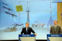 Joint press conference by Siim Kallas and Antonio Tajani, Vice-Presidents of the EC, on the automated emergency call for road accidents mandatory - eCall - in cars from 2015