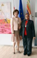 Visit of Elham Mahmoud Ahmed Ibrahim, Member of the African Union Commission in charge of Infrastructure and Energy, to the EC