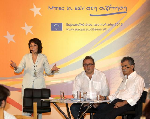 Citizens' Dialogue in Crete with Maria Damanaki
