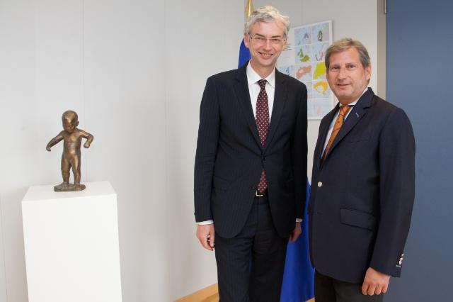 Visit of Michael Strugl, Minister for Economy of the State Government of Upper Austria, to the EC