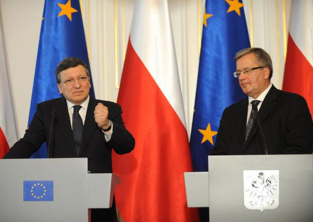 Visit of José Manuel Barroso, President to the EC, to Poland