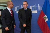 Visit of Laurent Lamothe, Haitian Prime Minister, to the EC