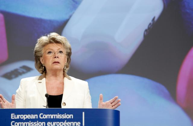 Press conference by Viviane Reding, Vice-President of the EC, on the decisive action of the EC against legal highs
