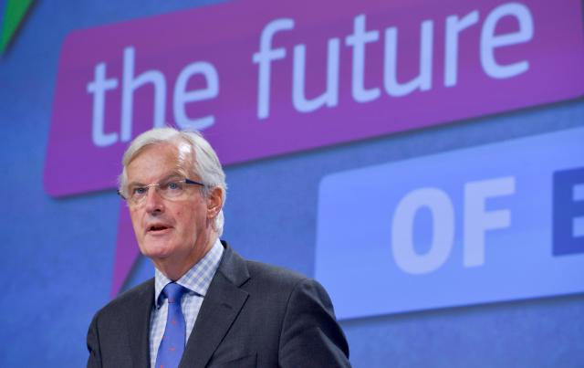 Press conference by Michel Barnier, Member of the EC, on the launch of the Single Market Month