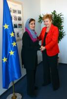 Visit of Sheikha Lubna Bint Khalid Al Qasimi, Emirian Minister for Development and International Cooperation, to the EC