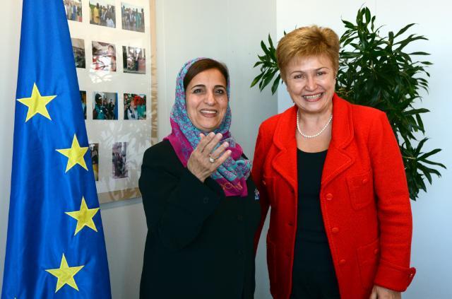 Visite de Sheikha Lubna Bint Khalid Al Qasimi, ministre du Développement et de la Coopération internationale des Émirats arabes unis, à la CE