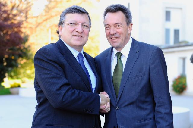 Visit of José Manuel Barroso, President of the EC, to Geneva