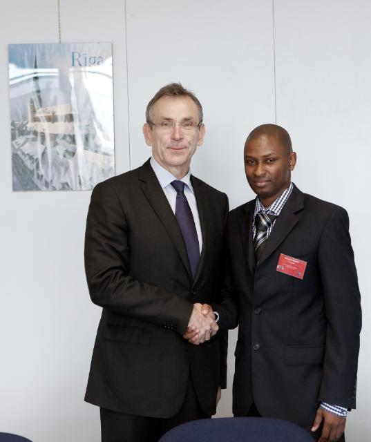 Visit of Abdoulie Jallow, Gambian Permanent Secretary at the Ministry of Finance and Economic Affairs, to the EC
