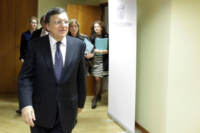 Meeting between José Manuel Barroso, President of the EC, Antonio Tajani, Vice-President of the EC, and Members of the Board of Confindustria