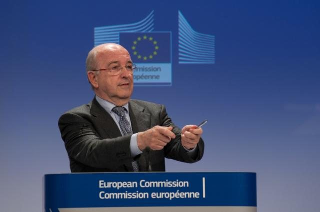 Press conference by Joaquín Almunia, Vice-President of the EC, on cartels in the financial sector