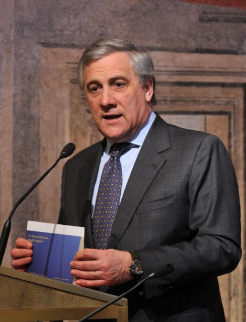 Participation of Antonio Tajani, Vice-President of the EC, at the high-level conference on the fight against counterfeiting, organised in Rome