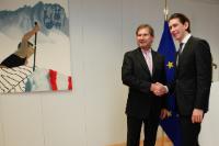 Visit of Sebastian Kurz, Austrian Federal Minister for European and International Affairs, to the EC