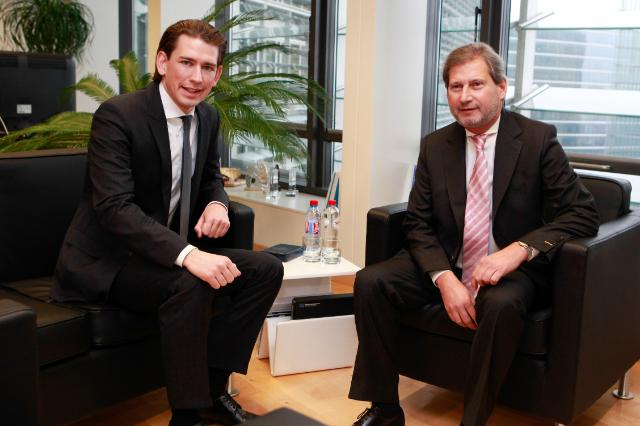 Visit of Sebastian Kurz, Austrian Federal Minister for European and International Affairs, to the EC