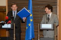 Visit of Miguel Poiares Maduro, Portuguese Minister for Regional Development, to the EC