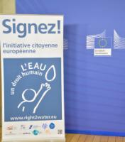 Visit to the EC of the organisers of the first European Citizens' Initiative 'Right2Water'