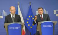 Visit of Bohuslav Sobotka, Czech Prime Minister, to the EC