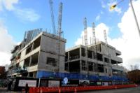 Le chantier du National Graphene Institute ...