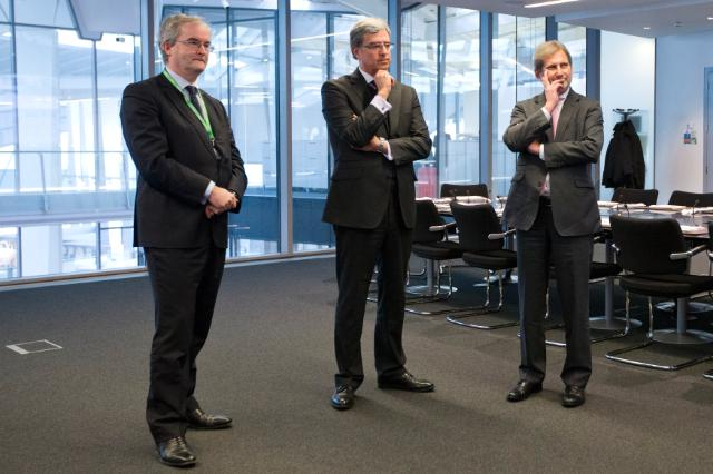 Visit of Johannes Hahn, Member of the EC, to the United Kingdom