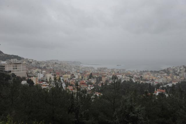 General views of the city of Kavala in northern Greece