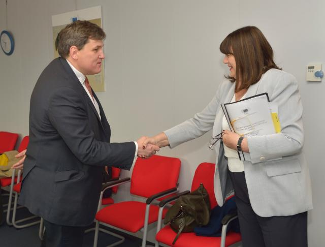 Visit of Kit Malthouse, Deputy Mayor of London for Business and Enterprise, to the EC