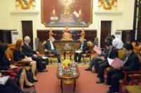 Visit of Karel De Gucht, Member of the EC, to Cambodia
