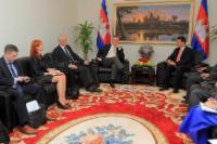 Visit of Karel De Gucht, Member of the EC, to Cambodia