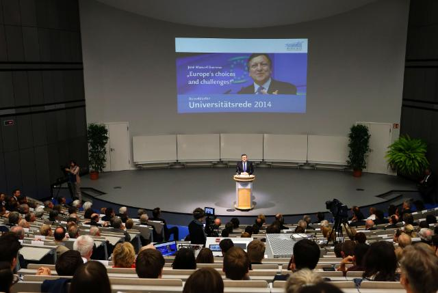 Visit of José Manuel Barroso, President of the EC, to Germany