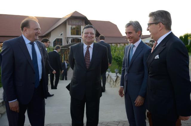 Visite de José Manuel Barroso, président de la CE, et Štefan Füle, membre de la CE, en Moldavie