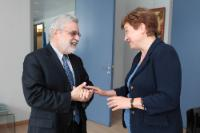 Visit of Jean-Louis Sarbib, CEO of the Development Gateway, to the EC