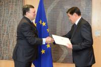 Presentation of the credentials of the new Heads of Mission to José Manuel Barroso, President of the EC