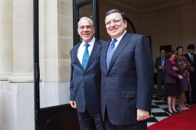 Visit of José Manuel Barroso, President of the EC, to Paris