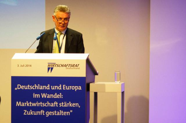 Participation of Karel De Gucht, Member of the EC, at the 2014 Economic Conference of Wirtschaftsrat Deutschland, in Berlin