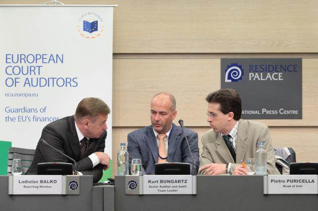 Press conference by Ladislav Balko, Member of the European Court of Auditors, on the cohesion policy funds support to renewable energy generation
