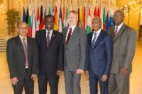 Drinks party to celebrate the Economic Partnership Agreement between the EU and West Africa