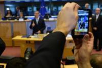 """Illustration of """"Hearing of Karmenu Vella, Member designate of the EC, at the EP"""""""