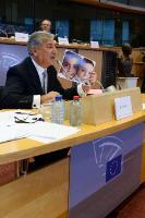 """Illustration of """"Audition de Karmenu Vella, membre désigné de la CE, au PE"""""""