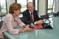 Visit of Reinhard Posch, Chief Information Officer of the Austrian Federal Government, to the EC