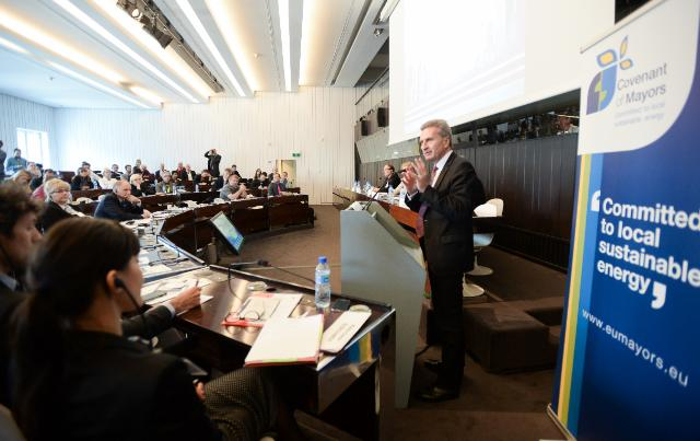 Participation of Günther Oettinger, Vice-President of the EC, at the high level conference 'Local authorities for the Energy Security of Europe'