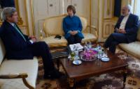 """Illustration of """"Participation of Catherine Ashton, Vice-President of the EC, in the E3/EU+3 nuclear talks in Vienna"""""""
