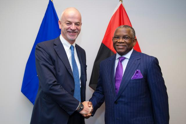Participation of Andris Piebalgs, Member of the EC, at the first High Level EU-Angola ministerial meeting, 17/10/2014