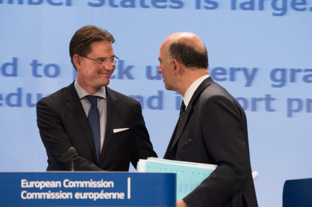 Conférence de presse de Jyrki Katainen, vice-président de la CE, et Pierre Moscovici, membre de la CE, sur les prévisions économiques d'automne pour 2014-2016