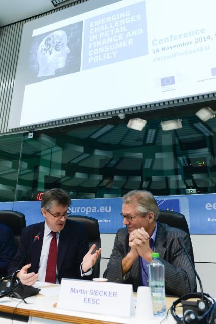Conférence sur les nouveaux défis dans le monde des services financiers de détail et de la politique des consommateurs, organisée par le CESE