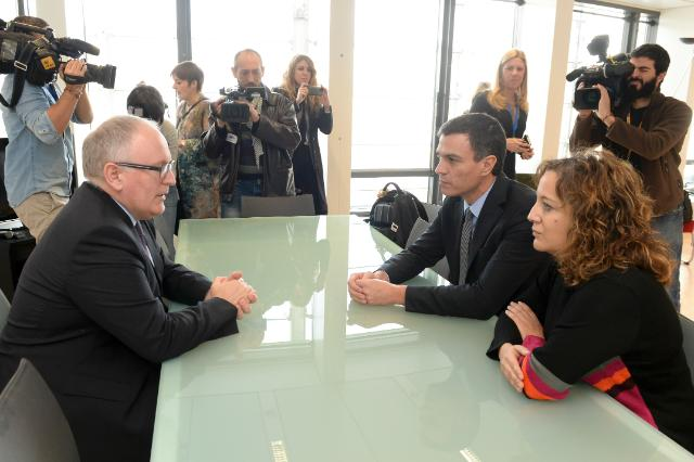 Visit of Pedro Sánchez, Secretary General of the Spanish Socialist Workers' Party, to the EC