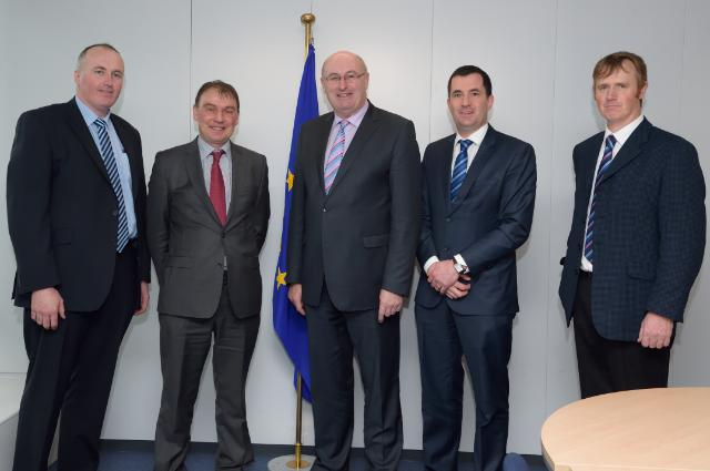 Visit of a delegation from the ICMSA to the EC
